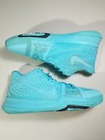 NIKE Kyrie 3 Aqua Youth Size 6.5Y Women's Size 8 Basketball Shoes 859466 401