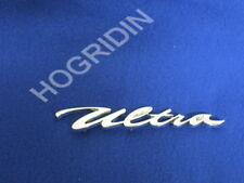 Harley Davidson Electra Glide Ultra FLHTCU front fender chrome script nameplate
