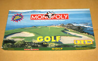 1998 MONOPOLY GOLF EDITION - FANTASTIC CONDITION!!! - Verified 100% Complete