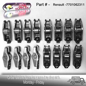 RENAULT TRAFIC 2.0DCI MASTER 2.3DCI M9R M9T 16 valve Engine Rocker Arm X 16