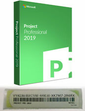 Microsoft Project Pro (Professional) 2019 - Authentic and Genuine Retail License