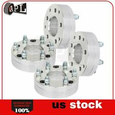 """4X 5 Lugs 2"""" 50 mm 5x5 to 6x5.5 14x1.5 wheel spacers for Jeep Grand Cherokee"""