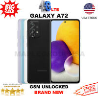"Samsung Galaxy A72 - 128GB (GSM UNLOCKED) 6.7"" Dual Sim AT&T T-Mobile MetroPcs"