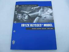 2008 Harley Davidson Buell XB12X Ulysses Parts Catalog Manual Book 99575-08Y