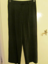 M&S Autograph Smart Black Chinos / Trousers in Size 10 M - L31