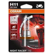 Osram H11 (711) Night Racer 110% More Light Motorbike Bulb 12V 55W 64211NR1-01B