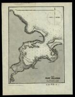 Philippine Islands Port Palanog 1902 detailed nautical chart map