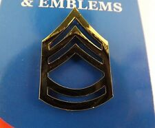 BRAND NEW Lapel Pin U.S. ARMY E7 SGT. 1ST Class Gold Tone 1""