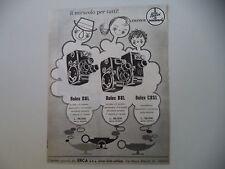 advertising Pubblicità 1960 CINEPRESE BOLEX PAILLARD D8L/B8L/C8SL