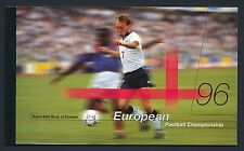 GB 1996 EUROPEAN FOOTBALL CHAMPIONSHIP PRESTIGE BOOKLET FINE MINT DX18
