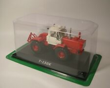 Model tractor T-150K USSR Russia Scale 1/43 Die cast model Hachette Collection