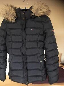 Tommy Hilfiger Daunenjacke schwarz gr. S Winterjacke