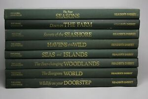 The Living Countryside by Reader's Digest Hardback Set of 8 Books Very Good Con