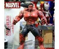"10"" PVC Red Hulk Titan Super Hero  Marvel Avengers Incredible Action Figure Toy"