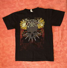 BULLET FOR MY VALENTINE Welsh Heavy Metal Black T-Shirt 100% Cotton S Size