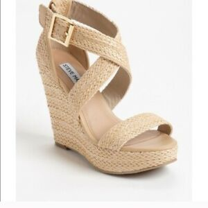 Steve Madden Women's Haywire Espadrille UK Size 5 Preowned