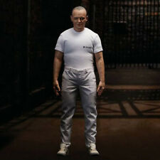 THE SILENCE OF THE LAMBS Hannibal Lecter Prison Uniform Action Figure Blitzway