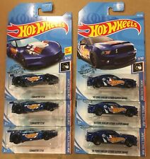 '10 Ford Shelby GT500 Super Snake #192 2019 Hot Wheels And Corvette C7.R Lot