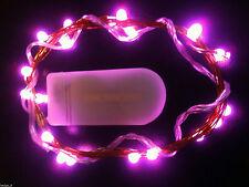1M 10LEDs Battery Power LED String Light Wedding Party Decor String Fairy Lights