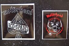 Two Piece Motorhead Sticker Pack - Ace of Spades & Snaggletooth