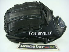 "Louisville Slugger PRO Mesh 12"" Pitcher Baseball / Softball Glove Black Ace LHT"