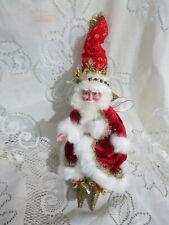 Mark Roberts King of Bling Fairy Santa Small 599/7500 Coa