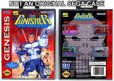 Punisher, The - Sega Genesis Custom Case *NO GAME*