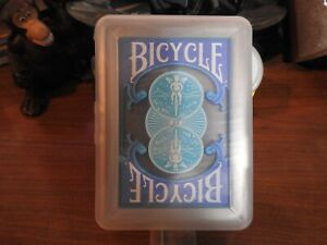 Bicycle Clear Plastic WaterProof Playing Cards with Case