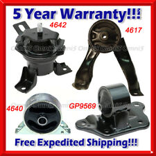 M082 Fits 2004-2006 Mitsubishi Lancer Ralliart 2.4L AUTO Motor & Trans Mount 4pc