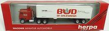HERPA Nr.854001 Freightliner Koffer-SZ 'BUD OF CALIFORNIA' - OVP