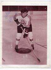 STEVE SHORT SIGNED PHOTO NHL LA KINGS DETROIT REDWINGS 1977-79 AHL AUTOGRAPH