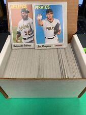 7b1694418 2019 Topps Heritage Baseball COMPLETE BASE SET 1-400 Free Shipping