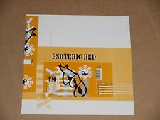 TAO esoteric red LP NEW 1997 drum and bass breaks breakbeat