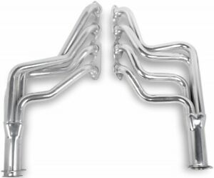 "FLOWTECH LONG TUBE HEADERS,1.75"" TUBES,CERAMIC,BBC,70-72 CAMARO,64-74 CHEVELLE"