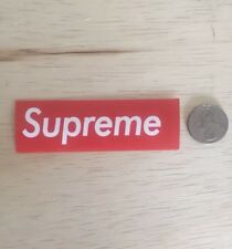 Supreme Red Dupe Small Stickers