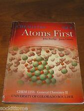 Chemistry Atoms First Julia Burdge Jason Overby CU Boulder