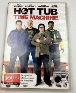 Hot Tub Time Machine DVD Comedy R4 Rare with Tracking
