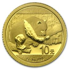 WOW ~ 2016 ~.999  PURE GOLD~ CHINA PANDA COIN ~1~GRAM ~ MINT SEALED ~GEM~ $74.88
