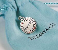 NEW Tiffany & Co. Retired Las Vegas Poker Chip Enamel Silver Charm or Pendant