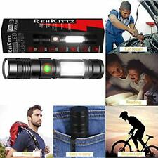 S2600 LED Tactiical  Flashlight Super Bright.USB Charging MAGNETIC BASE NEW