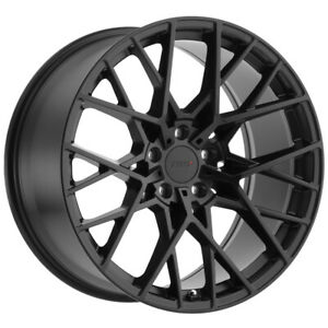 "TSW Sebring 18x8.5 5x120 +35mm Matte Black Wheel Rim 18"" Inch"