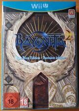 Bayonetta 2 First Print Edition per Nintendo WiiU Wii U italiano NUOVO sigillato