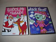 CHRISTMAS DVD LOT # C7 -2 NEW CHRISTMAS DVD'S-RUDOLPH & FRIENDS - JACK FROST