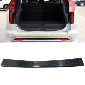 Fit for Mitsubishi Pajero Sport 2020 2021 Black Rear Outer Bumper Protector 1PC