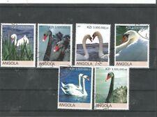 Angola wunderschöner Satz Schwäne