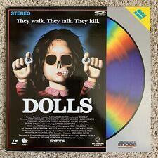 DOLLS Laserdisc - VERY RARE HORROR
