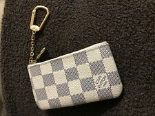 Auth Louis Vuitton Azur coin pouch cles very good condition!