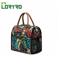 LOKASS Insulated Lunch Bag Thermal Handbag Lunch Box Tote Bag Students & Working