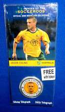 2006 Heroes of the Socceroos soccer Medallion Jason CULINA New Pack + Card Coin