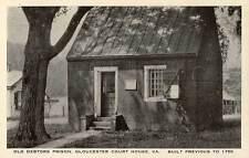 1930 GLOUCESTER VA Old Debtors Prison Gloucester Court House Rexall postcard